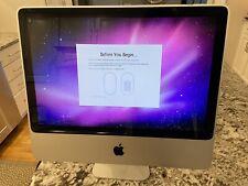 """Apple iMac 20"""" Desktop - MA877LL/A (2007) 1GB RAM, 2.4 GHz, 320GB HDD (A1224)"""