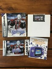 CASTLEVANIA: HARMONY OF DISSONANCE * gameboy advance * gba * complete