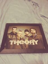 Theory of A Deadman Band Signed 11x14 Framed Photo American Rock Musicians