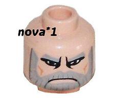 STAR WARS LEGO COUNT DOOKU FLESH HEAD NEW