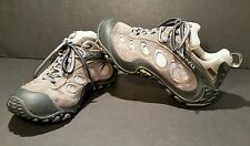 Merrell Chameleon Wrap Gore Tex XCR Vibram Hiking Shoes Size 6 Gray Blue