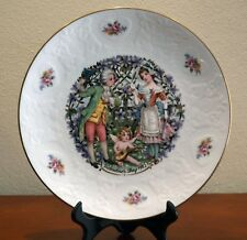 Royal Doulton Valentine's Day 1982 Courting Couple Plate