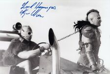 KJELL NILSSON signed Autogramm 20x30cm MAD MAX 2 in Person autograph HUMUNGUS