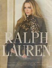 ▬► PUBLICITE ADVERTISING AD RALPH LAUREN Collection 2010