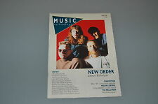 Music Technology Magazine April 1989 (New Order)