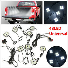 8Pcs LED Truck Bed Super White LED Lighting Light Kit For F-150 GMC Pickup Truck
