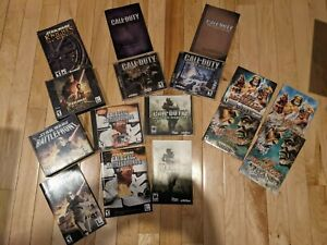 '02-'07 PC Games Bundle with Manuals (Star Wars, Call of Duty, Age of Mythology)