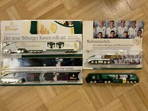 Futuristic German Beer Truck Model Gift Lot Of 4 Limited Editions HO Scale