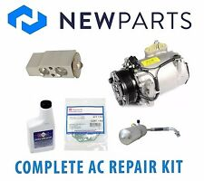 Saturn Vue V6 3.5L 2005-2007 Complete A/C Repair Kit New Compressor with Clutch