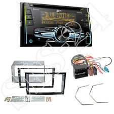 JVC CD USB Bluetooth Doppel-DIN Autoradio für Opel Antara Astra H Zafira piano b