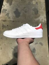 ADIDAS STAN SMITH SHOES WHITE RED SZ US 8 COMMON PROJECT CAMPUS GAZELLE SNEAKERS