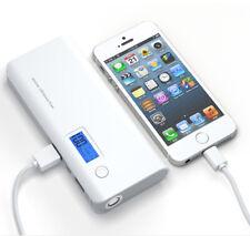 USA Portable Power Bank 2 USB 50000mah External LCD LED Backup Battery Charger Grey