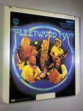 Fleetwood Mac Documentary & Concert -RARE !!  RCA SelectaVision - CED Videodisc