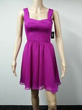 NEW - Guess - Size 2 - Sleeveless Seamed Cocktail Fuschia Dress - Purple $138
