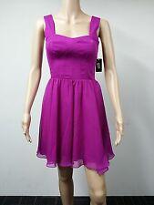 NEW - Guess - Size 2 - Sleeveless Seamed Cocktail Fuschia Dress - Purple $138