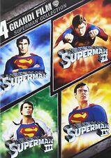 Superman - 4 grandi Film (4 Dvd) 1000208051 Warner Home Video