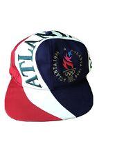 Rare Coloring Vintage Original ATLANTA 1996 OLYMPICS USA Eastport SnapBack HAT