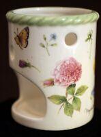 Hallmark Nature's Sketchbook Garden Floral Candle Holder Votive Marjolein Bastin