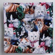 Kitties kittens Microwave hot bowl holder FREE US SHIPPING cotton reversible