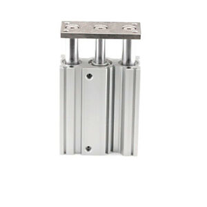 H● SMC MGQM20-25 Compact Guide Cylinder 20mm Slide Bearing Double Acting