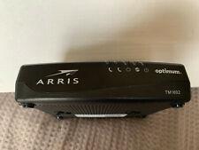 ARRIS TM1602A DOCSIS 3.0 Modem Optimum/Cablevision USED