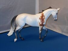 2008 Peter Stone King Louis Thoroughbred Model Horse In Flea Bit Gray Matte