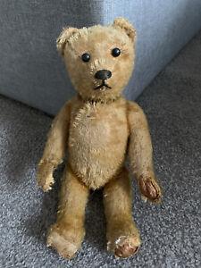 "Antique Vintage Early German Schuco Mohair yes/no Teddy Bear 10"" All Original"