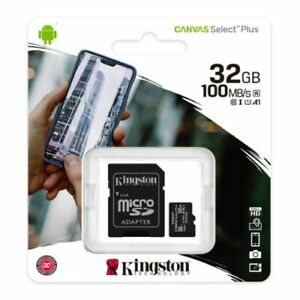 Micro SD Card SDHC SDXC Memory Card TF Flash Class 10 16GB 32GB 64GB &SD Adapter