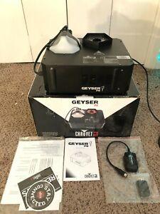 CHAUVET DJ Geyser P5 Vertical Fog Machine Penta-color LED RGBA+UV atmosphere dmx