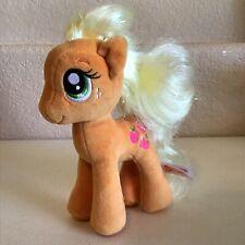 "My Little Pony Ty 6"" Apple Jack Sparkly Plush Stuffed Animal Toy"