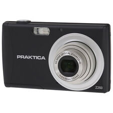 PRAKTICA Luxmedia Z250 Black Camera Inc 8gb SDHC Class 10 Card