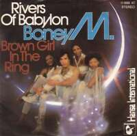 "Boney M. Rivers Of Babylon / Brown Girl In 7"" Single Vinyl Schallplatte 56543"