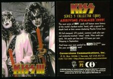 PROMO CARD: KISS COLLECTOR CARDS SERIES 3 (Cornerstone/1999) #P2 Part of Puzzle