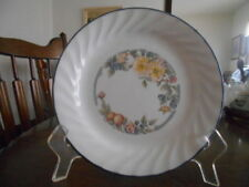 "Orchard Rose Salad Dessert Luncheon Plate (s) 7"" Corelle White Green Blue Orange"