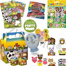 Farm Party Bag & Fillers Pre Filled Boys Girls Birthday Party Bags For Kids