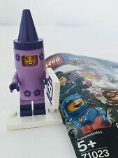 LEGO female girl XMAS elves lavender purple rare brand new minifigure lot 3x