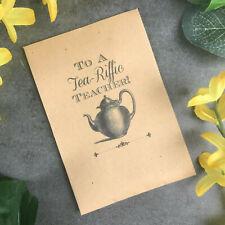 Teacher Gift, Gift For Teacher, Tea Gift For Teacher, Tea Bag, Cup Of Tea, Tea