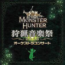 2 CD Monster Hunter Orchestra Concert Hunting Music Festival 2018