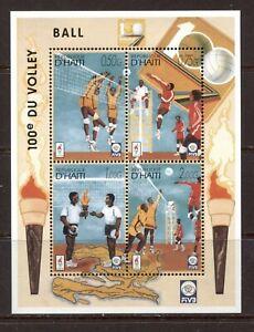 HAITI 1996, ATLANTA SUMMER OLYMPICS, Scott 879 SOUVENIR SHEET, MNH