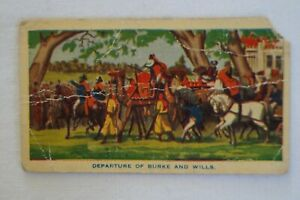 Hoadley's Chocolates Vintage Australia Birth of a Nation Departure Burke & Wills