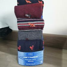 BNWT Ex M/&S Men Cotton Rich Socks with Silver technology 21 pairs size 8-9.5