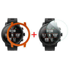 PC Case Cover for Xiaomi Huami AMAZFIT 2/2S Stratos Watch with Screen Protector