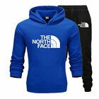 Hoodies Mens 2Pcs Tracksuit Set Sweatshirt Pants Bottoms Sport Set Jogging Suits