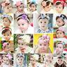 18 Styles Elastic Baby Kid Girl's Infant Hair Band Lace Flower Headwear Headband