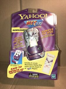 2000 Yahoo Hit Clips Micro Music System NEW Sealed Tiger Electronics NIP