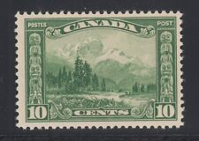 Canada Sc 155 MNH. 1928 10c green Mount Hurd, fresh