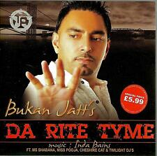 DA RITE TYME - (MISS POOJA , BUKAN JATT )  NEW UK BHANGRA CD - FREE UK POST