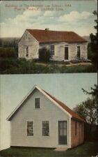 Litchfield Ct Law School Bldgs c1910 Postcard