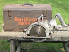 VINTAGE SKIL PORTABLE SAW MODEL 87 WORM DRIVE 15 AMPS