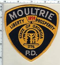 Moultrie Police (Georgia)  Shoulder Patch - new from 1993